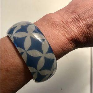 Jewelry - Cuff bracelet in blue vintage style
